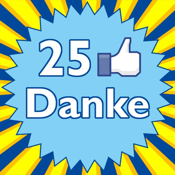 25LIKESdanke